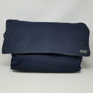 Jack Spade Crossbody Messenger Bag Navy Pre-owned